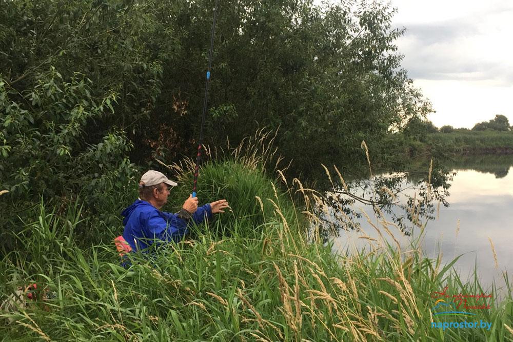 Рыбалка на Припять Лунинецкий район