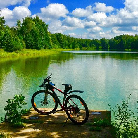 Велопрогулки по Полесью